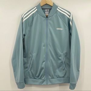 Adidas Dazzle Tricot Track Jacket (For Women) Blue